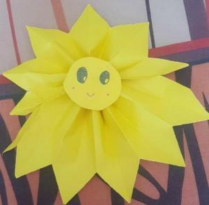Слънце  - Дария Тошева 1 в клас 782x768